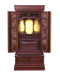 紫檀 中型仏壇